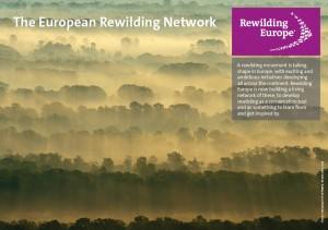 European Rewilding Network fact sheet