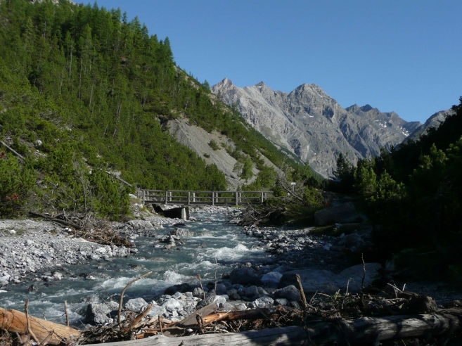 The Val Cluozza, Swiss National Park