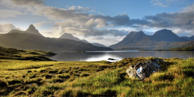 Coigach Assynt Living Landscape, Scotland is one of the members of the European Rewilding Network