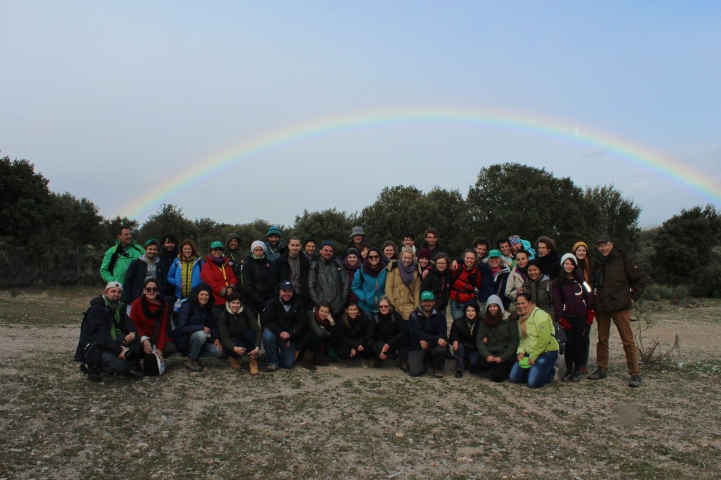 Group photo in Campanarios de Azaba