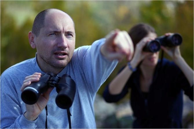 Stoycho Stoychev, team leader of the Rhodope Mountains rewilding team in Bulgaria.