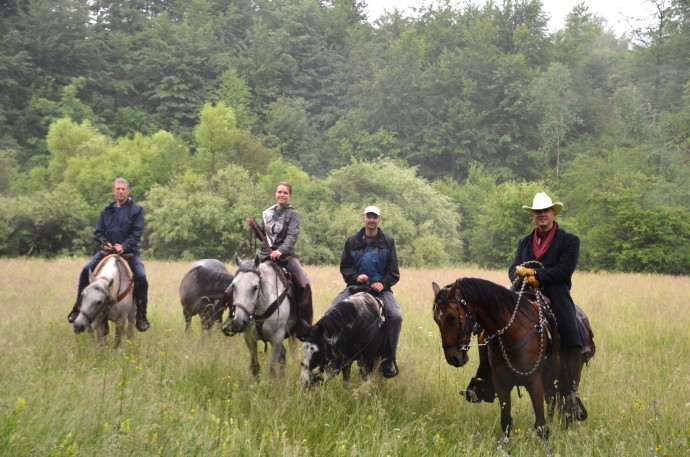 Horseback riding at Linden Tree Retreat & Ranch in Velebit, Croatia