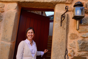 Ana Berliner, the owner and operator of Casa Cisterna Bed and Breakfast.