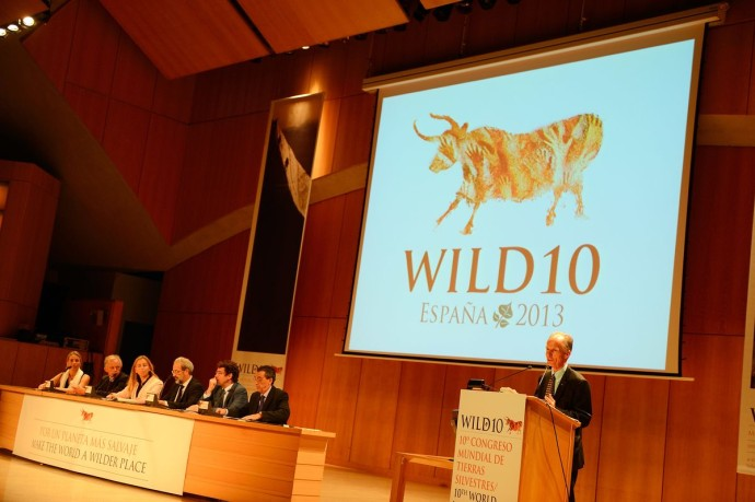 Vance Martin, President of the WILD Foundation at Wild10, The World Wilderness Congress, Salamanca, Spain