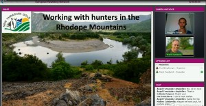 Experiences from working together with the hunters community shared at the second ERN webinar