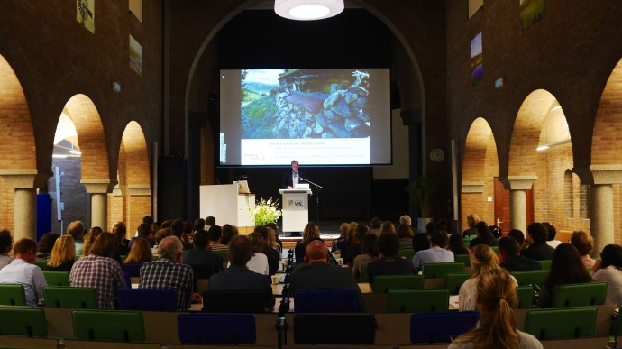Matthew McLuckie, Enterprise Development Manager at Rewilding Europe at the final symposium of the project 'KIGO European Nature Entrepreneur'