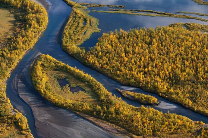 Sarek National Park, Laponia World Heritage Site, Sweden