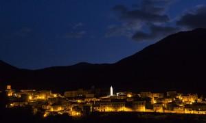 The village of Pettorano sul Gizio, Central Apennines