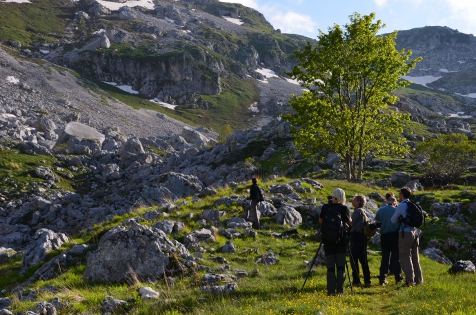 Rewilding Europe team visits the Central Apennines.