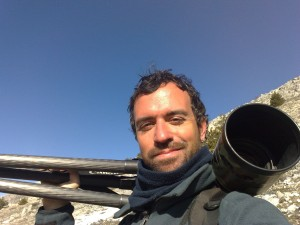 Bruno D`Amicis, Communications officer in the Central Apennines.