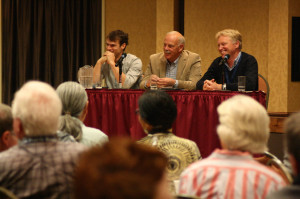 Annual Gathering 2014 of the American Prairie Reserve, with keynote speakers Gregg Treinish (Adventurers and Scientics for Conservation), Dan Wenk (Superintendent Yellowstone National Park) and Frans Schepers (Rewilding Europe)