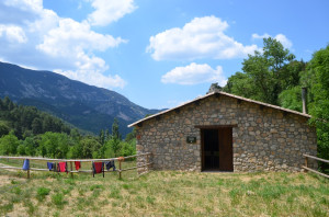 Our home for a week at Muntanya d'Alinyà, Spain.