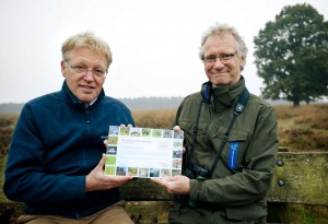 Frans Schepers, Managing Director of Rewilding Europe and Teo Wams, Conservation Director of Natuurmonumenten