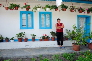 Guesthouse owner in Letea village, Danube Delta, Romania.