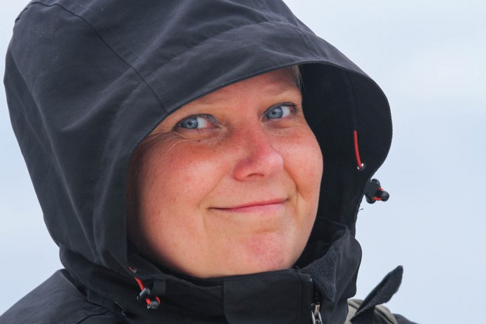 Iwona Krępic, Polish Team Leader of the Oder Delta rewilding area