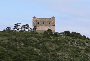 Nehaj Fortress, Senj, Velebit Rewilding landscape, Croatia.