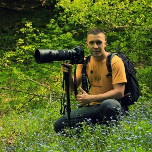 Nino Salkić, local photographer, nature guide and Field Officer at Rewilding Velebit.
