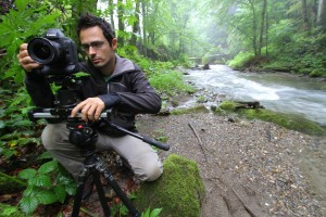 Shooting of Rewilding Europe's promotional film with help from Canon France and its gorgeous Canon 1DX Mark II.
