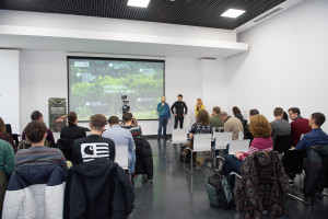 Opening ceremony of the LIFE Bison project in Bucharest, Romania.