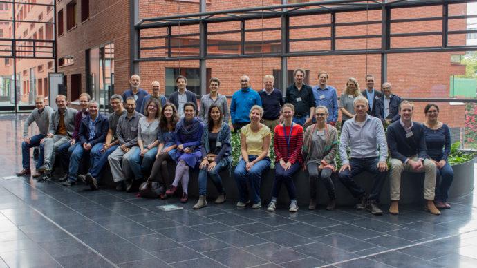 The workshop's multi-disciplinary team.