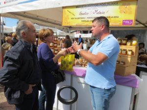 Guslice & Melnice's products proved a big hit with those attending the Buy Croatian Fair.