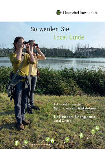A guiding handbook has been produced by Rewilding Europe partner DUH as part of efforts to boost nature-based tourism in the Oder Delta.