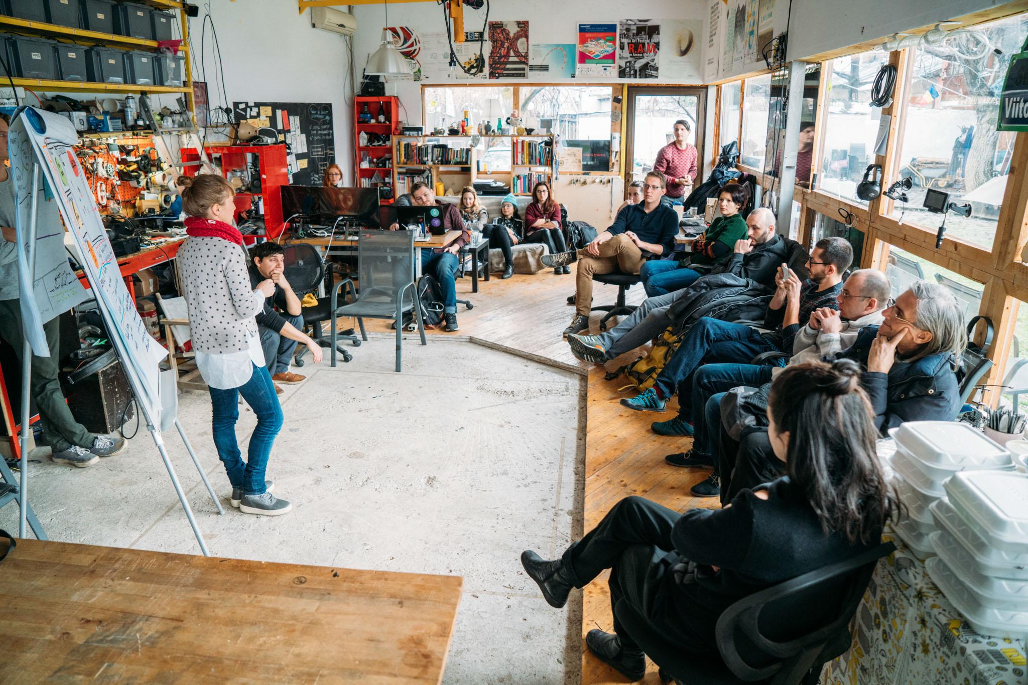 Last December's digital workshop saw participants brainstorm solutions for improving human-bison co-existence.