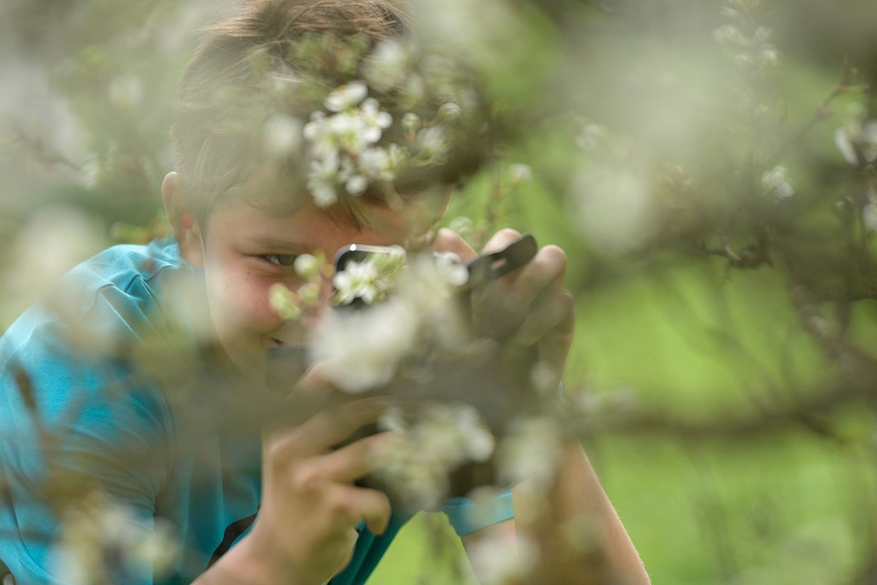 LIFE Bison project in the Southern Carpathians reconnects children with nature through a photography course for over 100 young members of the Life Bison school clubs.