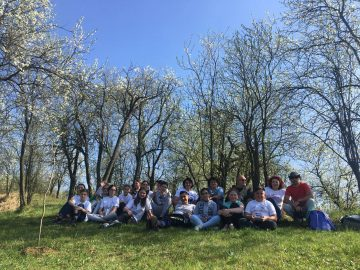 Five schools in Romania are now running an Active for Wilderness and Bison club (TANZ) for children and youth.