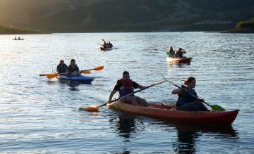 This year's camp witnessed an entertaining mix of traditional and less traditional camp activities.