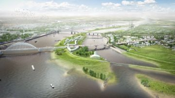 Nijmegen, site of Rewilding Europe's headquarters, is the first Dutch city to be awarded the title of European Green Capital.