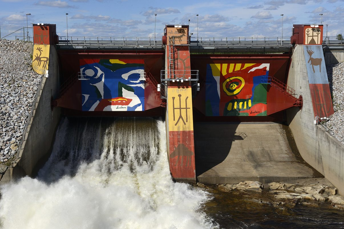 Dam Removal Europe will work to restore European rivers by removing old and obsolete dams and weirs. Image: Staffan Widstrand / Rewilding Europe