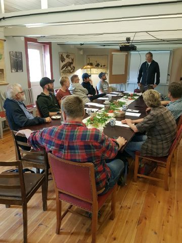 The workshop was designed to raise the profile of wildlife watching as a business model with local nature tourism companies.