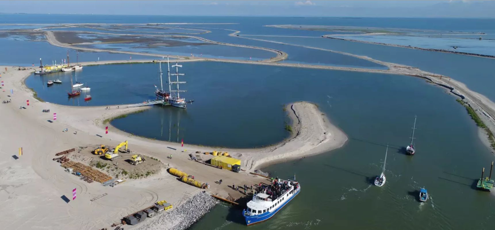 As one of Europe's largest, most ambitious and most innovative nature restoration initiatives, Marker Wadden is working to boost biodiversity and reconnect people with wild nature.