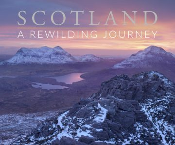 SCOTLAND: A Rewilding Journey was co-written by Rewilding Europe's multimedia producer Susan Wright, Peter Cairns and Nick Underdown.