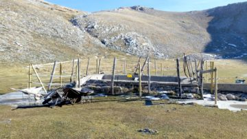 The Central Apennines rewilding team has identified five more potentially dangerous water tanks in the local area, and has hired a local blacksmith to close them with metal grids.