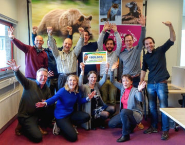 The Rewilding Europe team is extremely grateful to the Dutch Postcode Lottery for its fantastic support.