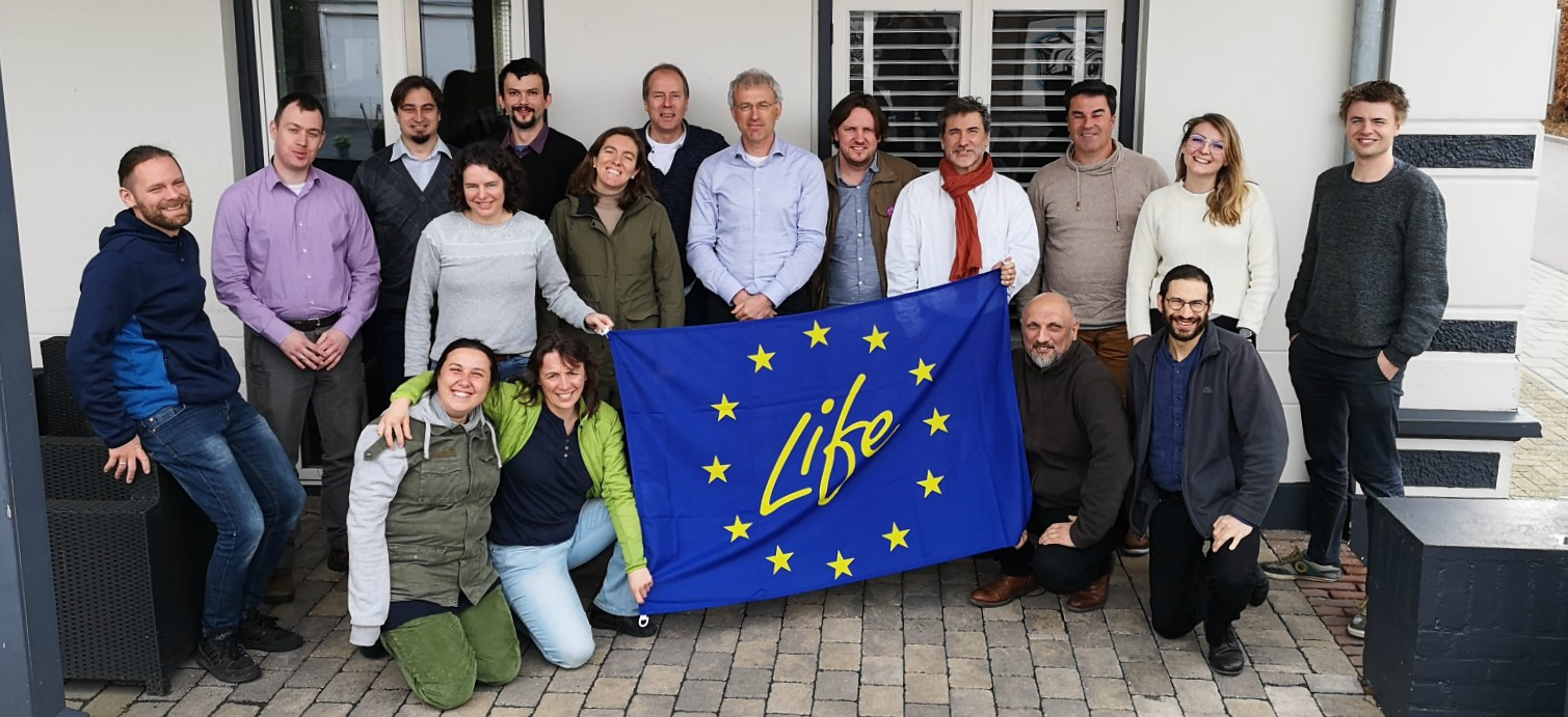 The kickoff meeting of the GrazeLIFE project gathered those involved in the eight regional grazing studies, as well as academic experts and a representative from the EU.