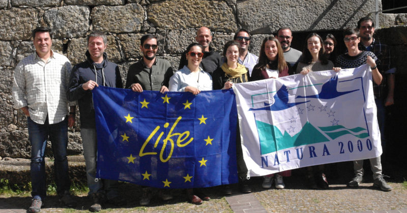 Members of Rewilding Europe, ATNatureza, Zoo Logical and the University of Aveiro come together to discuss unified actions and strategy for scaling up rewilding