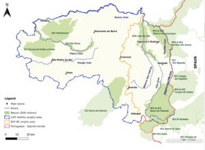Project area Rewilding area Portugal