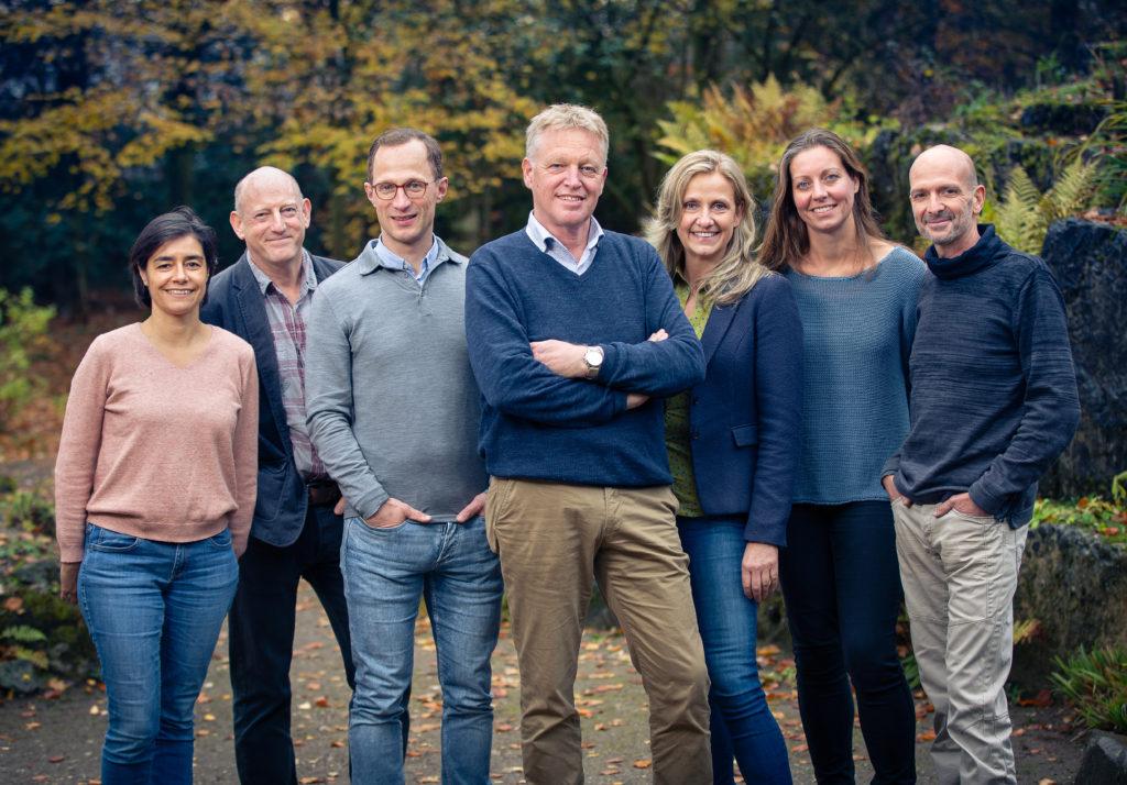 Management team of Rewilding Europe