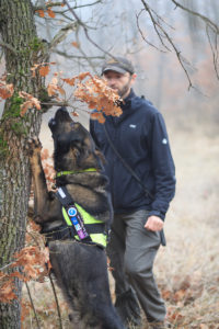 Antipoison Dog Unit: Nikolay Terziev and his four-legged team member Bars