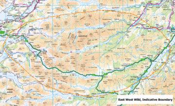 Indicative boundary East West Wild area