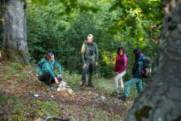 Rewilding Training Tourism in the Central Apennines