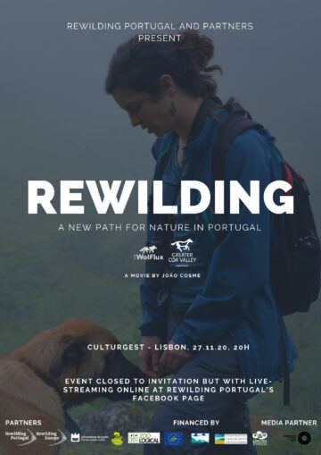 Movie poster rewilding documentary Rewilding Portugal