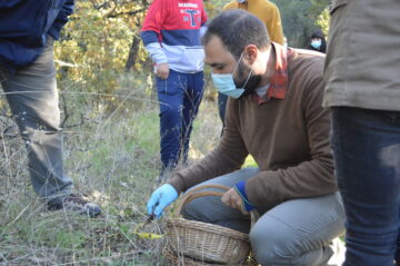 Field visit during the Lupi EcoClubs in the Greater Côa Valley