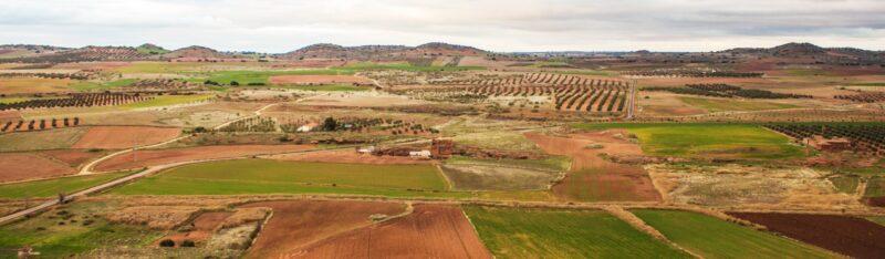 Open Landscape in the Campo de Montiel region, Spain