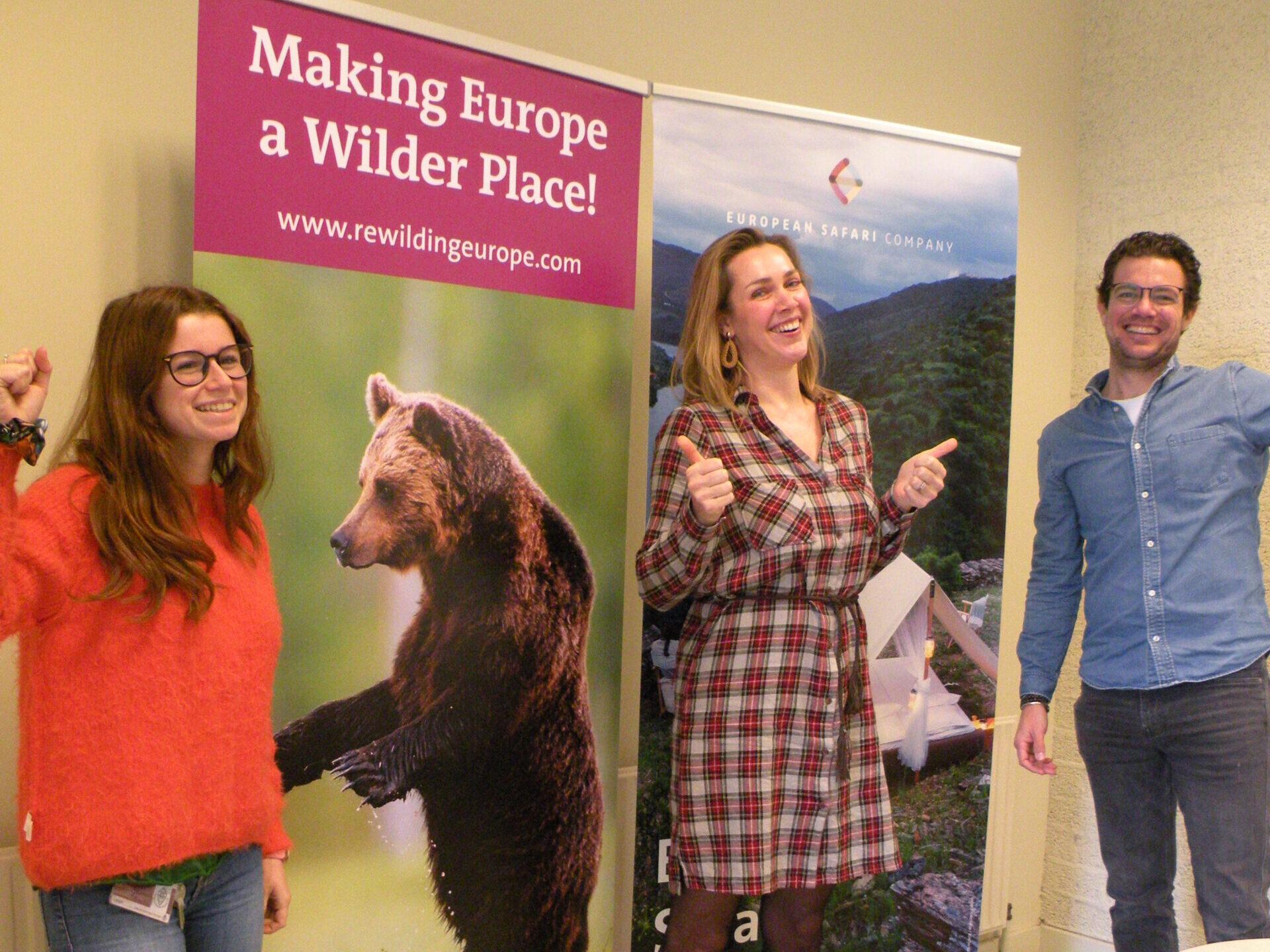 Rewilding Training Tourism team