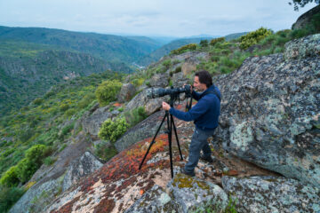 Fernando Romao owner of Wildlife Portugal, Faia Brava, Côa Valley, Western Iberia, Portugal, Europe, Rewilding Europe