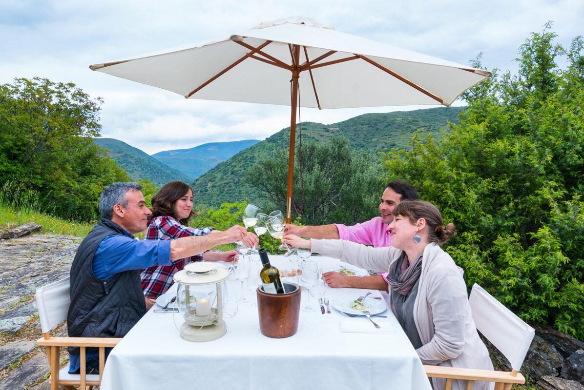 Fly Camp, Miles Away, Faia Brava, Côa Valley, Western Iberia, Portugal, Europe, Rewilding Europe